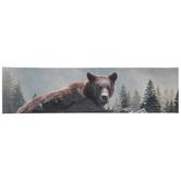 Grizzly Bear Canvas Wall Decor