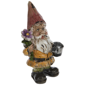 Gnome With Flower & Watering Can