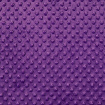 Purple Bubble Microfiber Fleece Fabric
