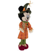 Minnie Harvest Self-Standing Scarecrow