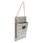 Galvanized Metal Wall Container