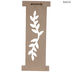 White Vine Letter Wood Wall Decor - I