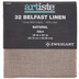 Natural 32-Count Belfast Linen Cross Stitch Fabric - 18