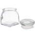 Square Glass Jar
