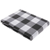 Black & White Buffalo Check Table Cloth - 60