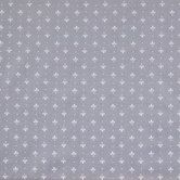 Gray Palmette Cotton Calico Fabric
