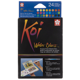 Koi Watercolor Field Sketch Box - 24 Piece Set