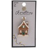 Gingerbread House Pendant