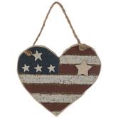 Rustic Heart Ornament
