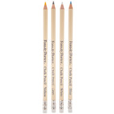Assorted Chalk Pencils - 4 Piece Set