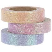 Pastel Ombre Glitter Washi Tape