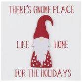 Gnome Place Like Home Wood Decor