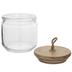 Round Glass Jar - 23 Ounce