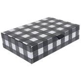 Black & White Buffalo Check Box