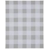 Gray & White Buffalo Check Canvas Memo Board