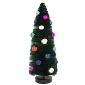 Dark Green Sisal Tree With Ornaments
