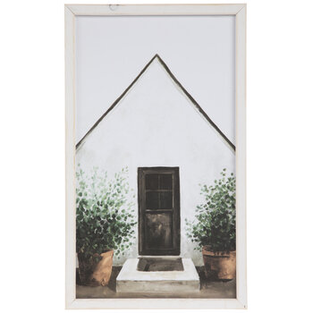 White Home Wood Wall Decor