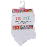 Tie Dye Youth Ankle Socks