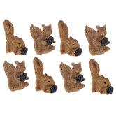Mini Squirrels & Pinecones