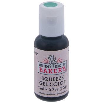 Teal Squeeze Gel Color - 20 Gram