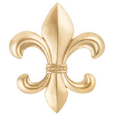 Gold Fleur-De-Lis Wall Decor
