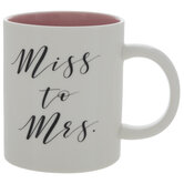 Miss To Mrs Mug