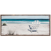 Beach Chair Canvas Wall Decor