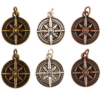 Compass Charms