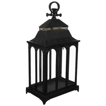 Black Arches Metal Lantern