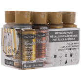 DecoArt Dazzling Metallics Paint Value Pack