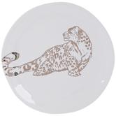 Gold Leopard Plate