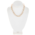 Large Oval Chain Necklace - 16