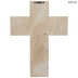 Blessed Engraved Wood Wall Cross