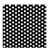 Black & White Polka Dot Gift Wrap