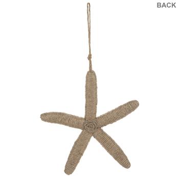 Wrapped Starfish Wall Decor