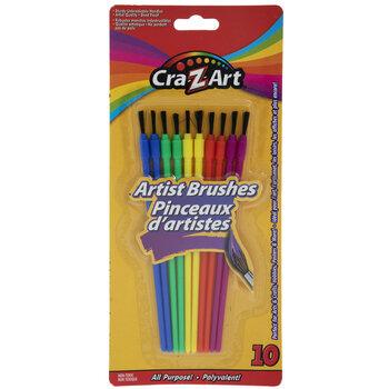 Cra-Z-Art Artist Paint Brushes - 10 Piece Set