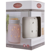 White Mason Jar Fragrance Warmer