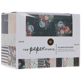 Gold Foil Floral Box Of Cards