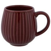 Vertical Striped Mug