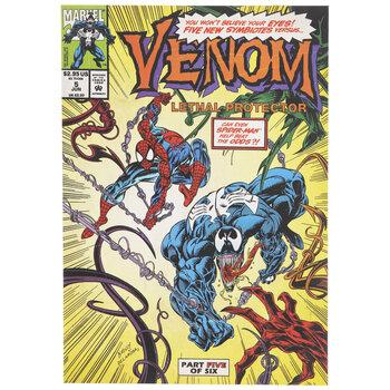 Venom Comic Book Wood Wall Decor
