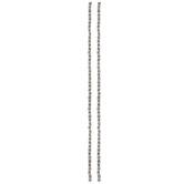 Metal Tube Bead Strands - 3.5mm x 3.5mm