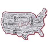 United States 3D Sticker