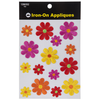 Flower Iron-On Appliques