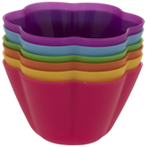 Multi-Color Flower Bowls