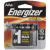 Energizer Max Power Seal Batteries - AA