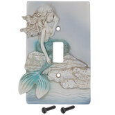 Mermaid Single Switch Plate