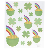 Pot Of Gold Foiled Stickers
