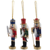 Nutcracker Soldier Ornaments