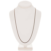 """Faceted Cable Chain Necklace - 30"""""""