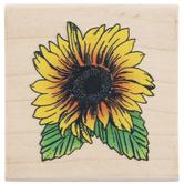 Sunflower Rubber Stamp